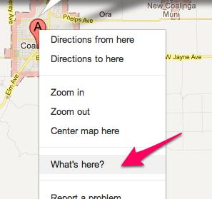 Coalinga ca  Google Maps