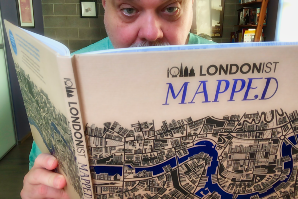 Gordon Meyer Londonist Mapped Book