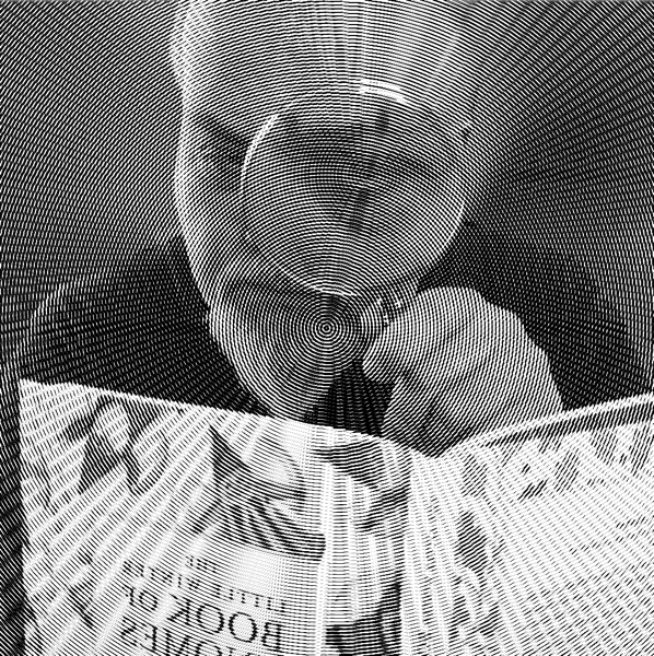 Gordon Meyer with Book