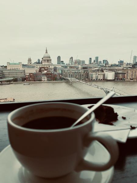coffee at Tate Modern