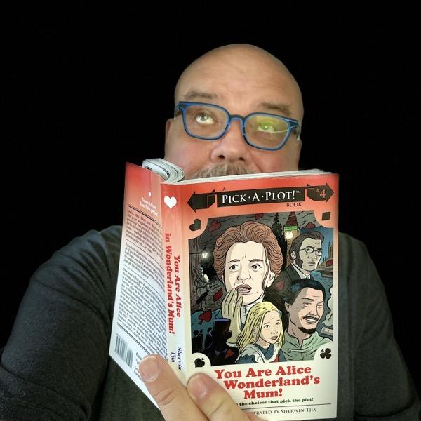 gordon meyer with book