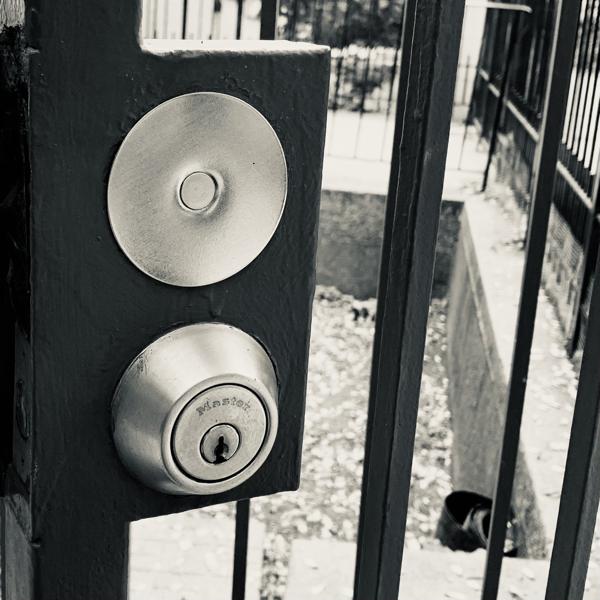 doorknob hole cover